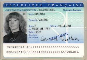 carte d'identité, nom et divorce